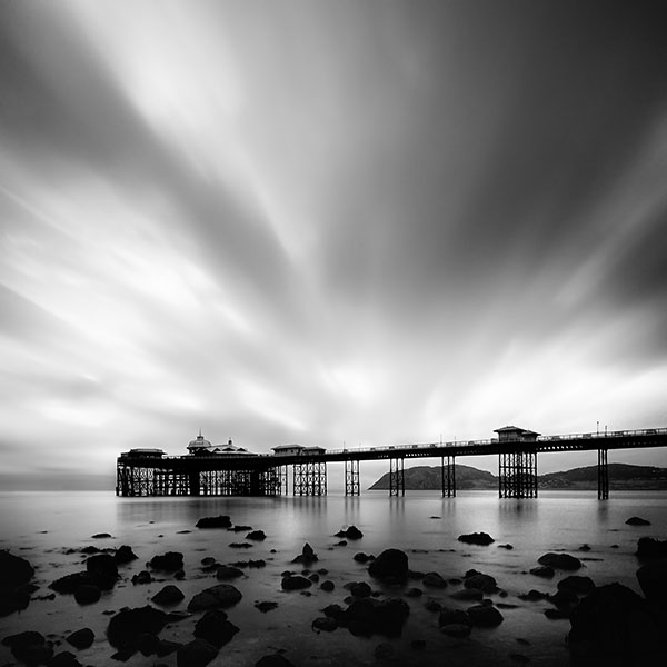 Llandudno Pier at Dawn