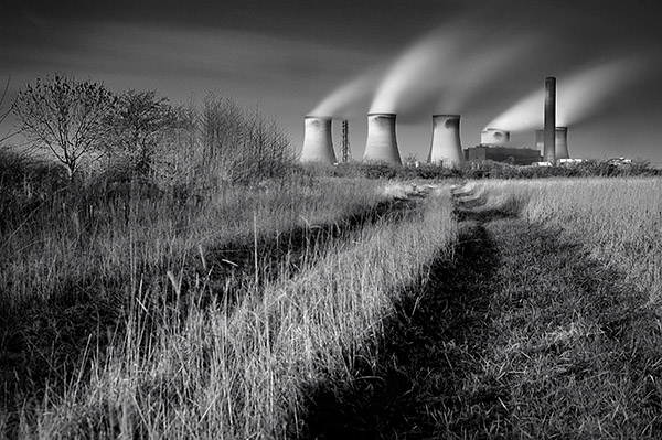Fiddlers Ferry Power Station, England
