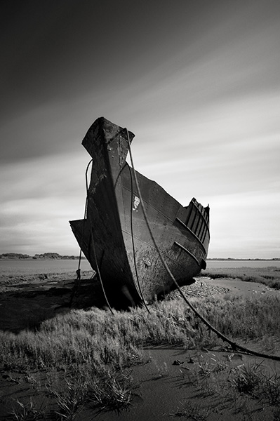 Abandoned Boat, Fleetwood