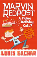Marvin Redpost, A Flying Birthday cake