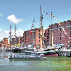 Albert dock Liverpool