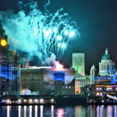 Mersey light show