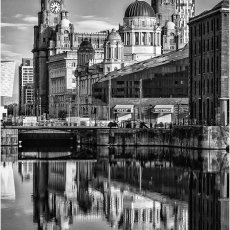 Liverpool waterfront reflections