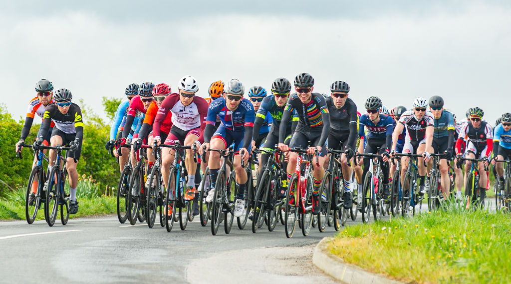 Start of the Keith Carter Memorial Road Race, East Yorkshire