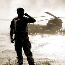 Casevac. Best overall image at the Army Photgraphic Awards, 2008