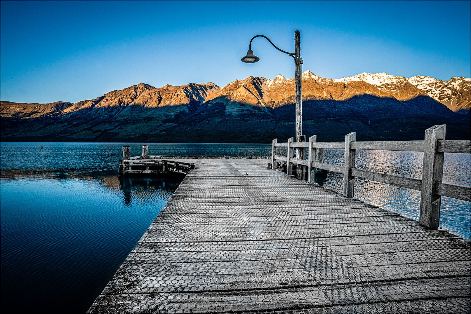 THE EARLY MORNING LIGHT, GLENORCHY