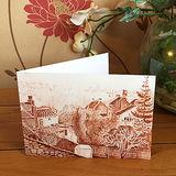 Greetings card - Frenchay village