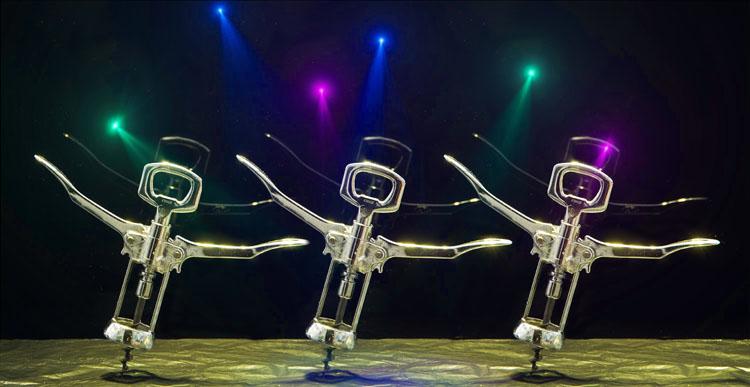 Dancing Corkscrews