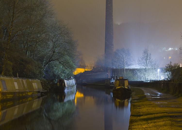 Rochdale Canal Night