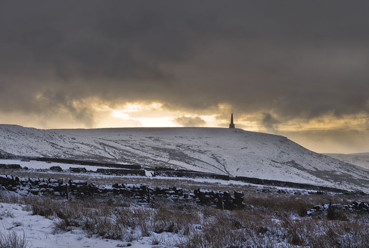 Stoodley Pike Winter