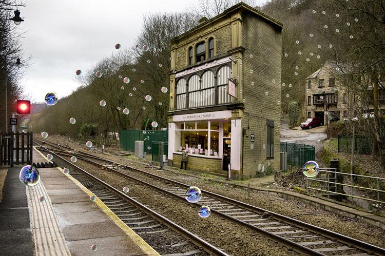The Soap Shop Signal Box