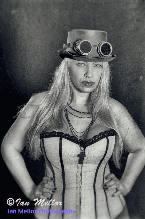 Goth Portrait (Vintage Style)