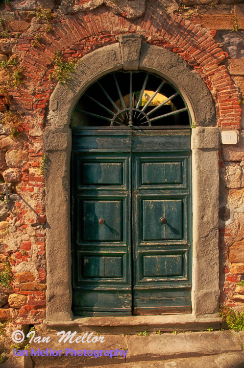 Old Door in Tuscany