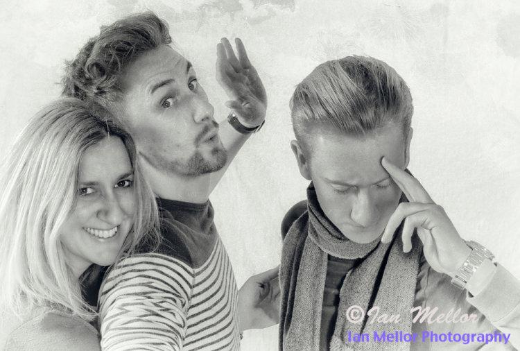 Group Portrait (Vintage Style)
