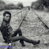 Portrait on a Disused railway
