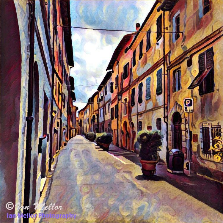 Street in Vicopisano