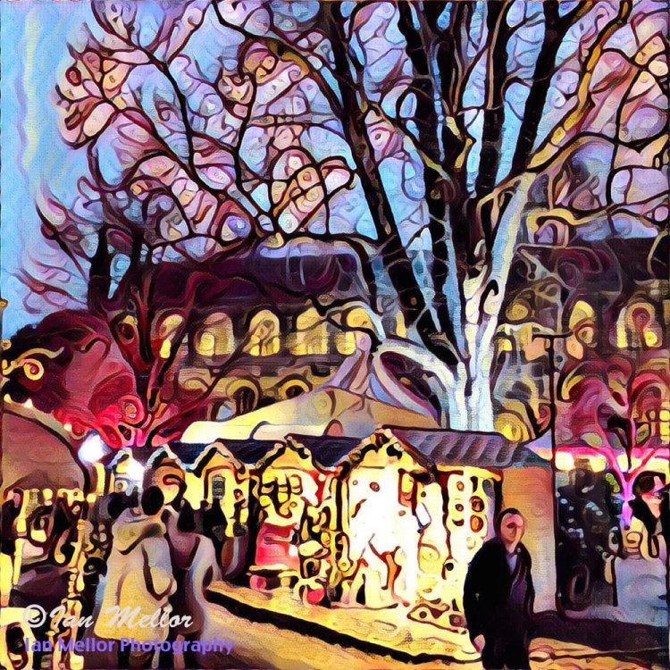 Christmas Market, Winchester
