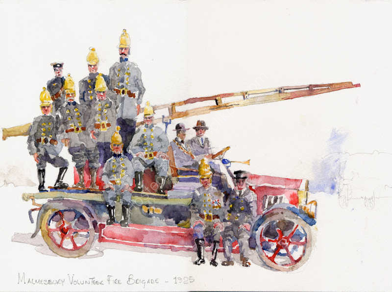 The volunteer Fire Brigade, Malmesbury