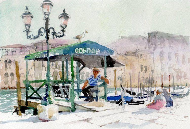 Gondola Jetty, Grand Canal