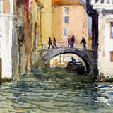 Off the Grand Canal, Venice