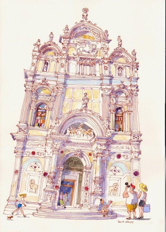 "Ospedale, Venice - <B><FONT color = ""red"">sold</FONT></B>"