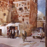 Talha Street, Sanaa, The Yemen