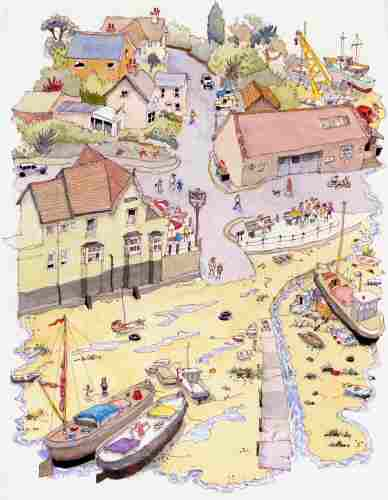 "Pin Mill, Suffolk - <B><FONT color =""red"">sold</FONT></B>"