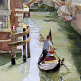 Quiet canal, Venice - sold