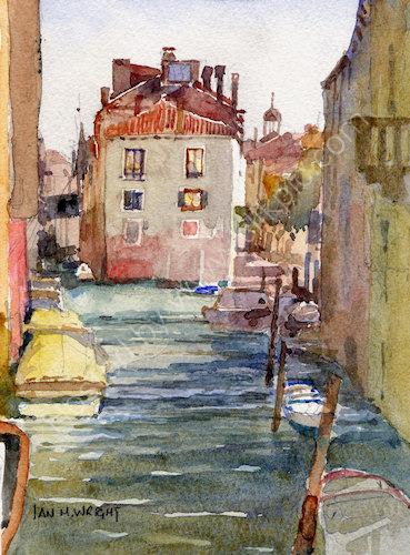 """Rio della Panada, Venice - <B><FONT Color = """"red"""" >sold</FONT></B>"""