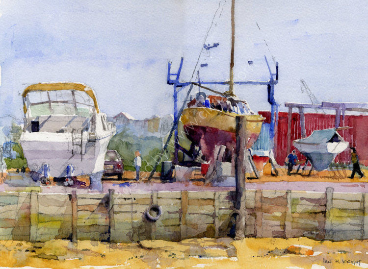 Boatyard, Walton-on-the-Naze