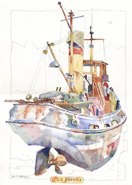 SS Brent, Maldon