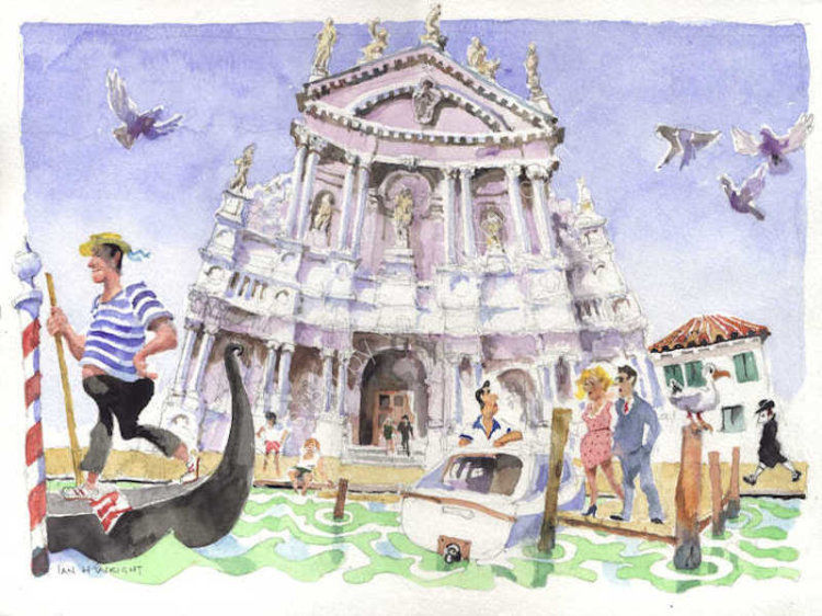 Gli Scalzi, Venice