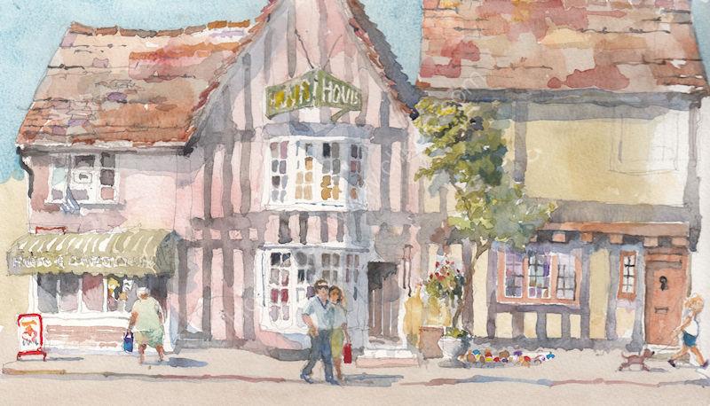 Shops at Lavenham, Suffolk