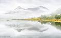 Mist over Loch Leven