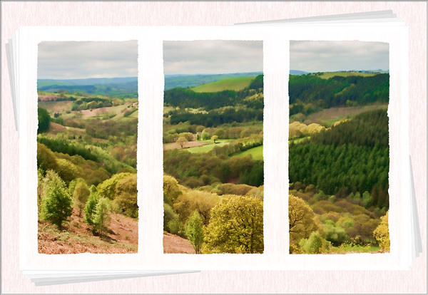 Brechfa postcards