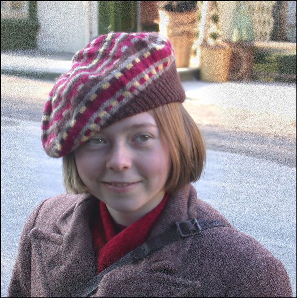Carrie the evacuee and star of the film.