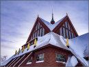 Church roof Kiruna