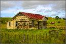 Clapboard farmstead