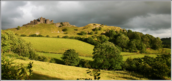 Evening, Carreg Cennen