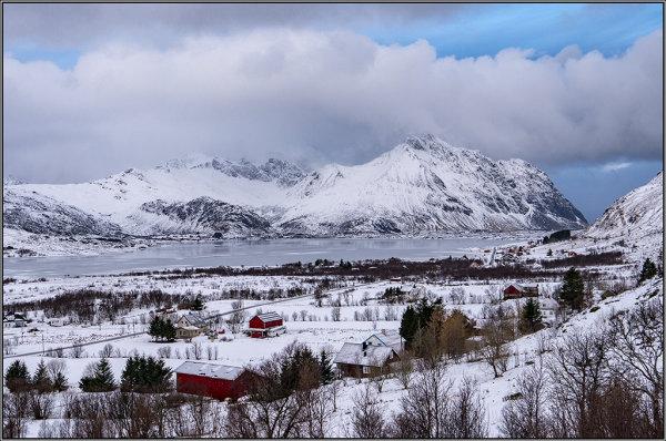 Lofoten hamlet