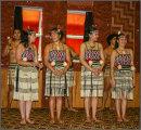 Maori dance troupe