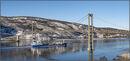 Passing under King Olav bridge