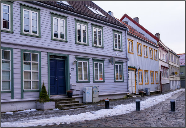 Pastle houses