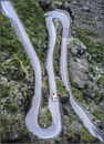 Up the hairpins