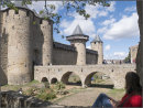 Relaxing in Carcassone