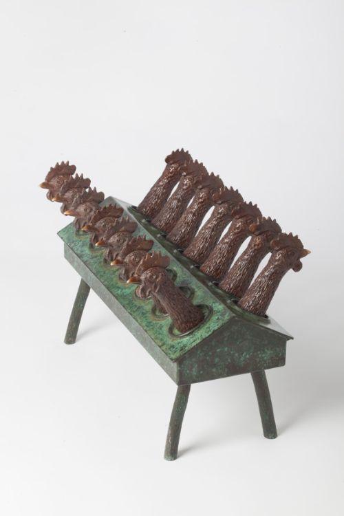'TAKE AWAY'  Bronze  33h x 51 x 30
