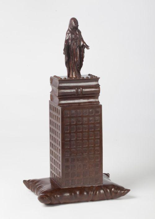 'MAIN LINE'  Bronze  51h x 27 x 18cms