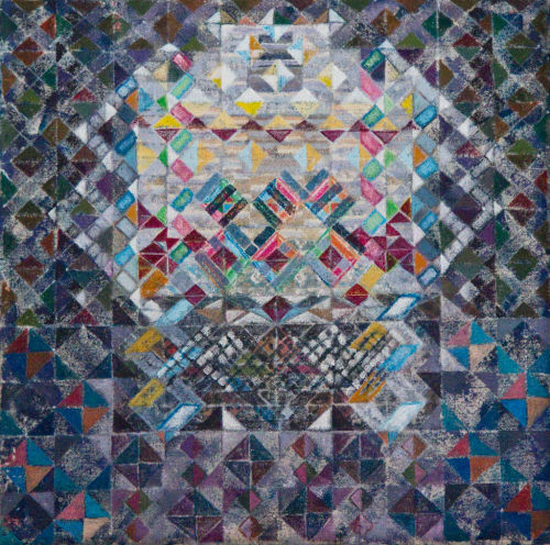 Marrakech PalaceAcrylic on Canvas30x30cms SOLD