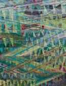 Towards Penn Farm Acrylic on Canvas 90x70cms