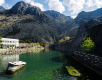 Scurda river, Kotor